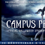 Student Party Spéciale Halloween ! Campus Peak